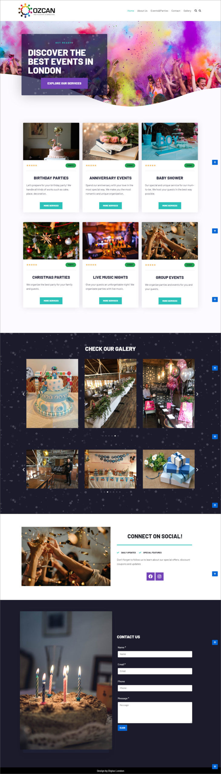 Website For Company Business
