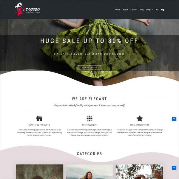 Digiso Ecommerce Website For Fashion Shop