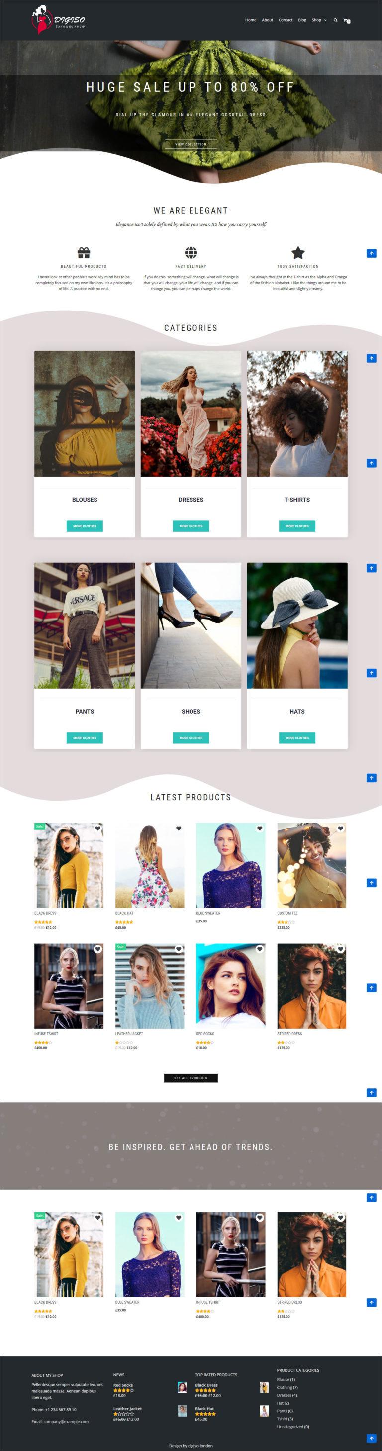 Ecommerce Website For Fashion Shop