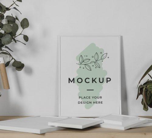 mock-up-frame-desk_23-2148861471