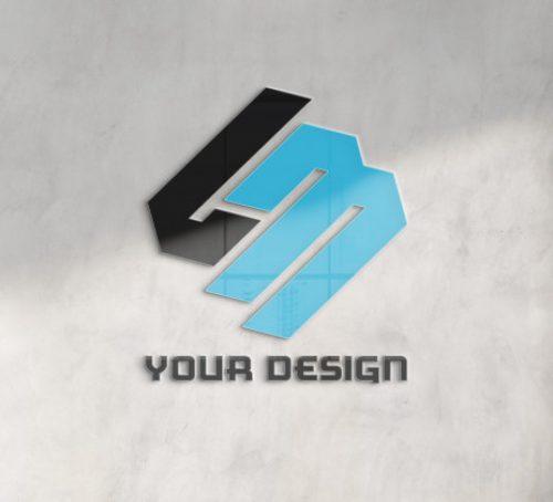 reflecting-logo-office-concrete-wall-mockup_117023-1697